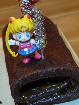 Roulé chocolaté